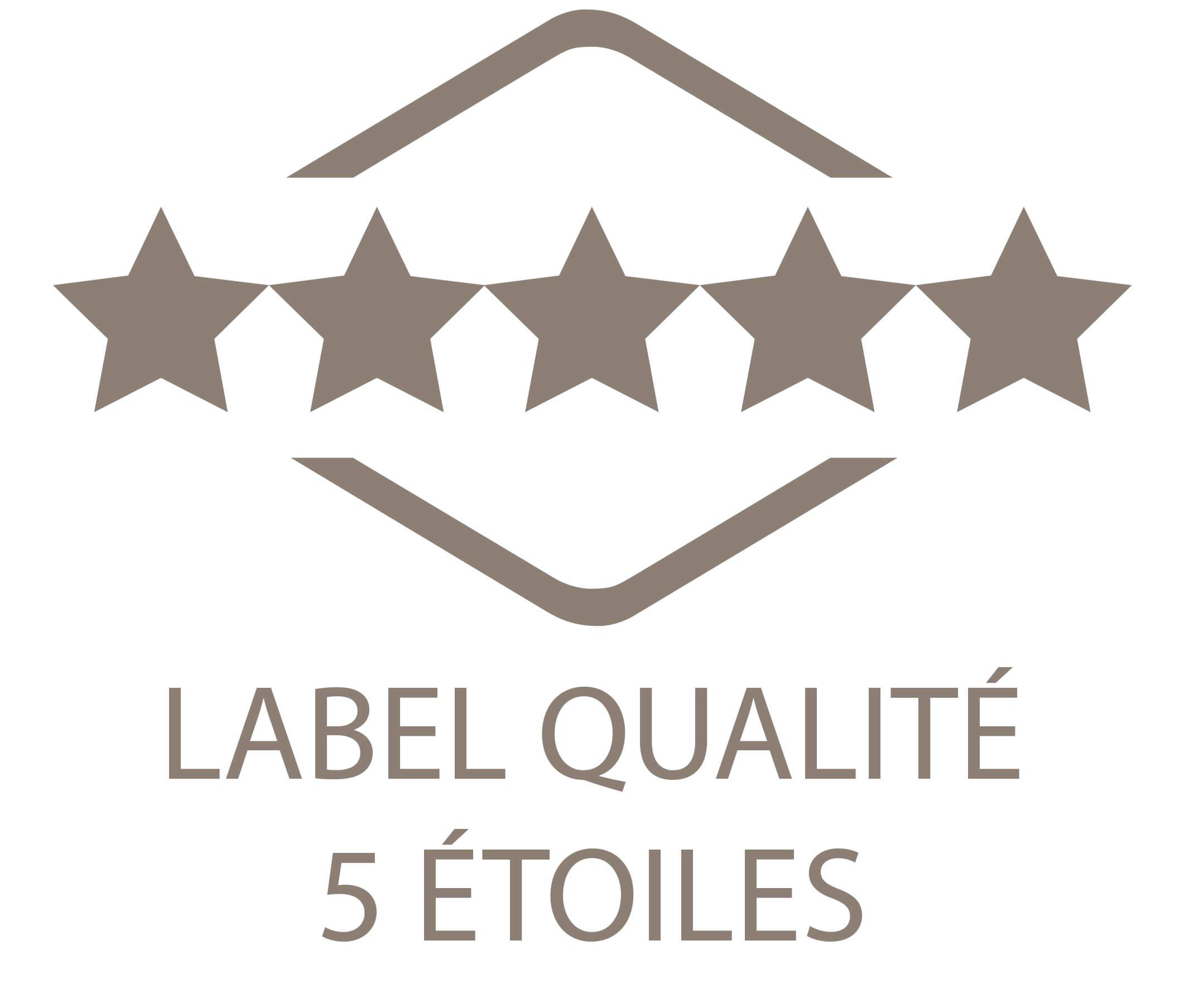 Bio Sculpture Label 5 étoiles